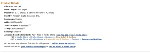 bestseller 7Nov2013